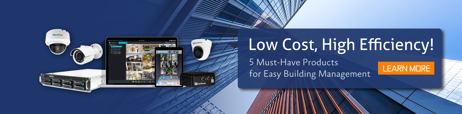 Low Cost, High Efficiency! 5 Must-Have Products for Easy Building Management